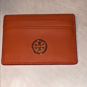 💋TORY BURCH ROBINSON SLIM CARD CASE